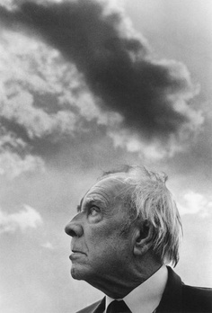 Borges in Palermo 1984, by Ferdinando Scianna