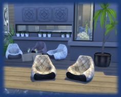 Ksimbleton: B2 chair • Sims 4 Downloads