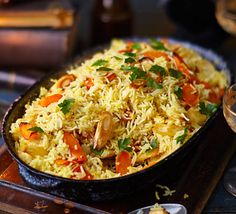 Looking for something a little different to have with your autumnal roast? This beautiful seasonal saffron-infused vermicelli is just the ticket