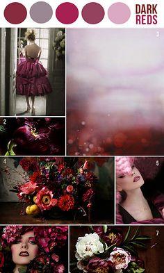 Dark reds by sandrineetcie on ravelry
