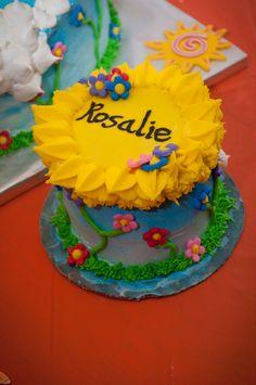 You Are My Sunshine smash cake! Sunshine Birthday Cakes, Sunshine Cake, Love Cake, You Are My Sunshine, Cake Smash, Cupcakes, Babies, Party, Desserts