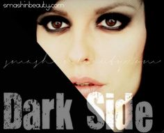 Kelly Clarkson Dark Side Album Cover Official Music Video #Makeup Tutorial #darkside #kellyclarkson #musicvideo  http://smashinbeauty.com/kelly-clarkson-dark-side-official-music-video-inspired-makeup-video-tutorial-black-smokey-eyes/