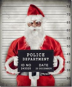 Find Mugshot Santa Claus Criminal Under Arrest stock images in HD and millions of other royalty-free stock photos, illustrations and vectors in the Shutterstock collection. Thousands of new, high-quality pictures added every day. Naughty Santa, Bad Santa, Christmas Jokes, Xmas, Merry Christmas, Office Christmas, Black Christmas, Christmas Stuff, Christmas Shopping