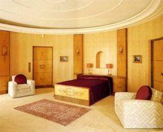 Art Deco Bedroom, Art Deco Bedroom Furniture and Interior Design Art Nouveau Bedroom, Bedroom Art, Bedroom Ideas, 1930s Bedroom, Master Bedroom, Art Deco Stil, Art Deco Home, Art Deco Furniture, Bedroom Furniture