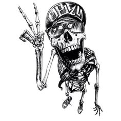 Skull Portraits by Joe King Tatto Skull, Dessin Old School, Silkscreen, Arte Hip Hop, Tattoo Magazine, Skull Artwork, Dope Art, Skull And Bones, White Art