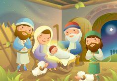 Modelo de lição: Deus anuncia o nascimento de Jesus - Material Gospel