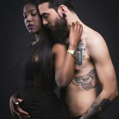 Hot interracial couples photography