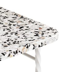 Normann Copenhagen has added to a growing trend for terrazzo with a collection of speckle-topped tables created by Danish designer Simon Legald.
