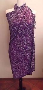 Sarong-Batik-Wrap-Beach-cover-up-Colour-Purple-Multicoloured-Brand-New #sarong #batik #balibatik #beachwear #travel
