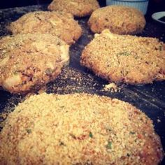 Tuna Cakes Recipe-gonna sub crumbs for more parm cheese