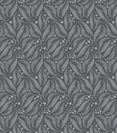 Modkid Studio by Patty Young Falling Feathers Gray Fabric colors- JoAnn in store fabric