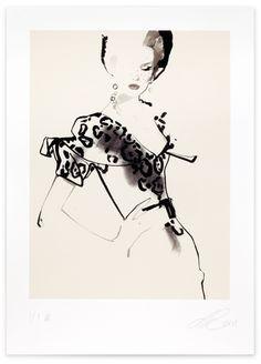 David Downton - Dior Couture A/W 2009 (1)