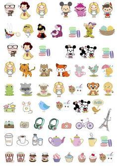 Night of Jasmine - free stickers Free Planner, Planner Pages, Happy Planner, Planner Ideas, Printable Planner Stickers, Journal Stickers, Free Printables, Stickers Kawaii, Cute Stickers
