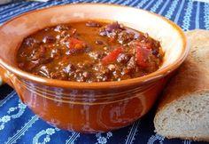 9 egytálétel ~500 kalóriából   NOSALTY Meat Recipes, Healthy Recipes, Healthy Foods, Hungarian Recipes, Hungarian Food, Salsa, Food And Drink, Soup, Chili Con Carne