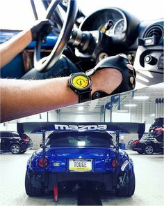#TurboTuesday @mx5militia's #TougeTurbo #TopMiata / Photo (bottom) by @nintondo_san @ns2_media  TopMiata.com