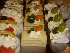 Party Treats, Canapes, Holidays And Events, Finger Foods, Catering, Sushi, Chicken Recipes, Cheesecake, Food And Drink