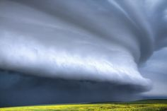 The Big One - Large shelf cloud in Saskatchewan. Photography by Ryan Wunsch