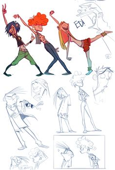 Ed Edd and Eddy ★ || CHARACTER DESIGN REFERENCES (www.facebook.com/CharacterDesignReferences & pinterest.com/characterdesigh) • Love Character Design? Join the Character Design Challenge (link→ www.facebook.com/groups/CharacterDesignChallenge) Share your unique vision of a theme every month, promote your art and make new friends in a community of over 20.000 artists! || ★