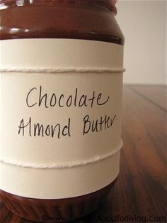 choco almond butter (replace sugar with Stevia) Flavored Butter, Butter Recipe, Paleo Dessert, Dessert Recipes, Chocolate Chip Cookie Dough, Chocolate Butter, Homemade Chocolate, Chocolate Delight, Homemade Seasonings