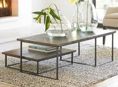 10 Coffee Tables for Couch Potato Dining