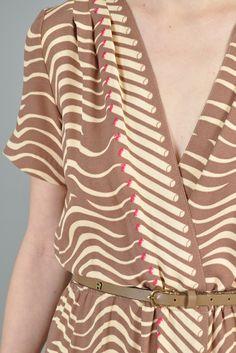 1970s Cigarette Smoke Dress   BUSTOWN MODERN