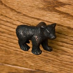 Solid Brass Bear Cabinet Knob