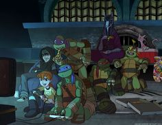 "The second episode of TMNT that I worked on, ""Never Say Xever"" is on Nickelodeon this Saturday!! YAAYY My team worked really hard on the animation, it's well worth a watch. 8) Everything that I've ..."
