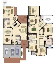 dream house for me and my friend in florida Sims House Plans, House Layout Plans, Family House Plans, Bedroom House Plans, Dream House Plans, Modern House Plans, Small House Plans, House Layouts, House Floor Plans