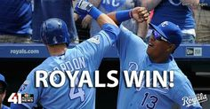 OH YEAH! The Kansas City Royals defeat the Baltimore Orioles 6-1 to take the series. #ForeverRoyal