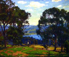 The Athenaeum - Near the Bay (William Wendt - 1924)