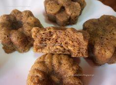 Receitas da Romy: Bolinhos saudáveis de courgette e maçã, sem açúcar...