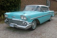 1958 Chevy Bel Air: Canadian Edition - http://barnfinds.com/1958-chevy-bel-air-canadian-edition/