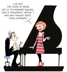 Music technology watch by Anne BD via arsenicetpetitesbretelles.com #humor