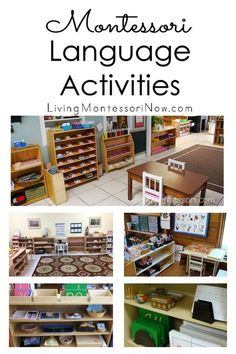 An overview of the Montessori language curriculum plus many Montessori phonics resources and activities for a variety of ages at home or in the classroom - Living Montessori Now