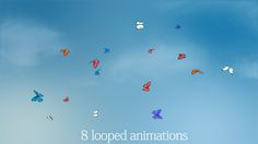 Butterflies Animations Pack