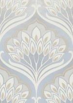 25084,61Ft Prix par rouleau (par m2 4796,29Ft), Papier peint vintage, Matériel de base: Papier peint intissé, Surface: Lisse, Aspect: Motif mat, Surface irisée, Design: Damassé floral, Couleur de base: Gris clair, Couleur du motif: Beige, Blanc crème, Caractéristiques: Bonne résistance à la lumière, Difficilement inflammable, Arrachable à sec, Encollage du mur, Lessivable