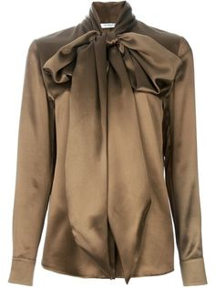 GIVENCHY Bow Blouse - Lyst