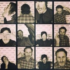 Andrew Lincoln and Norman Reedus - The Walking Dead