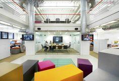 Office seating blocks