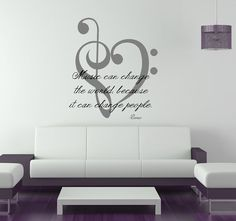 Fine Art Giclee Prints and Vinyl Wall Art - Home Decor & Design Ideas. Music Wall Decor, Music Room Art, Music Bedroom, Music Themed Rooms, Bedroom Themes, Bedroom Decor, Bedroom Furniture, Bedroom Ideas, Bedroom Bed