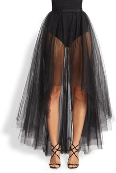 black tulle skirt - Google Search                                                                                                                                                                                 More