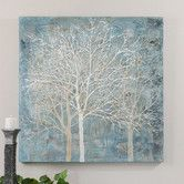 Found it at Wayfair - Muted Silhouette Original Painting on Canvas