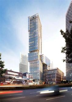 """Image 1 of 1 from gallery of KPF Obtains Planning Permission for London's """"New Bondway"""". Photograph by KPF Amazing Buildings, Modern Buildings, Futuristic Architecture, Facade Architecture, Building Facade, Building Design, Building Sketch, Building Ideas, Future Buildings"""