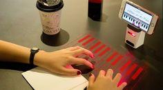 Tecnoneo: El teclado proyectado 'iKeybo' tiene soporte para escritura en múltiples idiomas y teclado musical