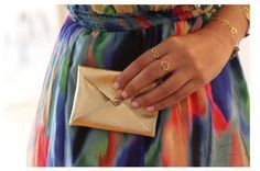 DIY Leather Envelope Clutch | Whimseybox