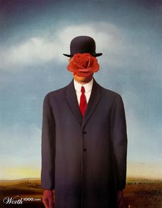 90 Best Parody Son Of Man Images Art Parody Magritte Parody