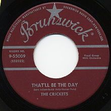 1957 in music - Wikipedia, the free encyclopedia  Buddy Holly and the Crickets