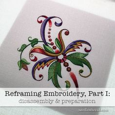 Tips Tricks and Great Resources for Hand Embroidery Crewel Embroidery Kits, Embroidery Needles, Cross Stitch Embroidery, Embroidery Patterns, Framing Supplies, Christmas Stocking Kits, Christmas Ornaments, Do It Yourself Crafts, Crochet Cross