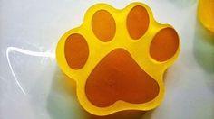 Mydło glicerynowe Łapka Glycerine Soap Golden Dog Paw handmade
