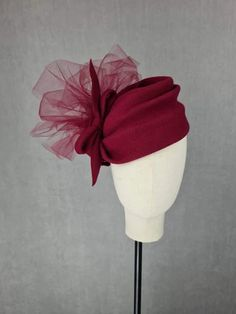 MBM2275 – Millinery By Mel News Design, All Design, Fascinators, Hats, Creative, How To Wear, Hat, Hipster Hat